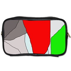 Colorful Abstraction Toiletries Bags 2-side by Valentinaart
