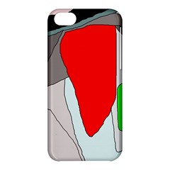 Colorful Abstraction Apple Iphone 5c Hardshell Case by Valentinaart