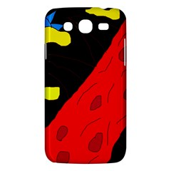 Red Abstraction Samsung Galaxy Mega 5 8 I9152 Hardshell Case  by Valentinaart
