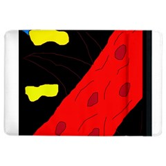 Red Abstraction Ipad Air 2 Flip by Valentinaart
