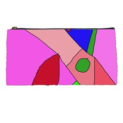 Pink Abstraction Pencil Cases by Valentinaart