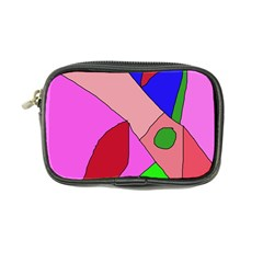 Pink Abstraction Coin Purse by Valentinaart