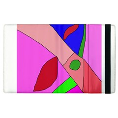 Pink Abstraction Apple Ipad 3/4 Flip Case