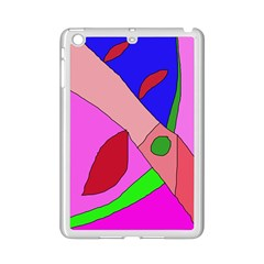 Pink Abstraction Ipad Mini 2 Enamel Coated Cases by Valentinaart
