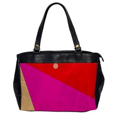 Colorful Abstraction Office Handbags