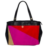 Colorful abstraction Office Handbags Front
