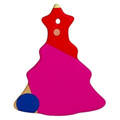 Colorful Abstraction Ornament (christmas Tree) by Valentinaart