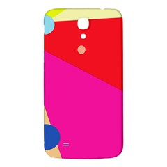 Colorful Abstraction Samsung Galaxy Mega I9200 Hardshell Back Case by Valentinaart
