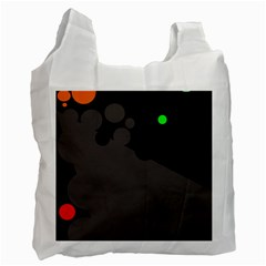 Colorful Dots Recycle Bag (two Side)  by Valentinaart