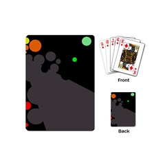 Colorful Dots Playing Cards (mini)  by Valentinaart