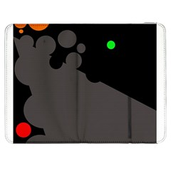 Colorful Dots Samsung Galaxy Tab 7  P1000 Flip Case by Valentinaart
