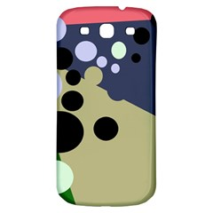 Elegant Dots Samsung Galaxy S3 S Iii Classic Hardshell Back Case by Valentinaart