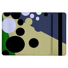 Elegant Dots Ipad Air Flip by Valentinaart