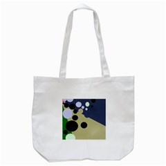 Elegant Dots Tote Bag (white) by Valentinaart