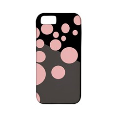 Pink Dots Apple Iphone 5 Classic Hardshell Case (pc+silicone) by Valentinaart