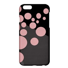 Pink Dots Apple Iphone 6 Plus/6s Plus Hardshell Case by Valentinaart