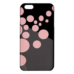 Pink Dots Iphone 6 Plus/6s Plus Tpu Case by Valentinaart