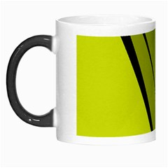 Yellow Elegant Design Morph Mugs by Valentinaart