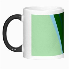 Green Design Morph Mugs by Valentinaart
