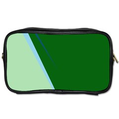 Green Design Toiletries Bags 2-side by Valentinaart