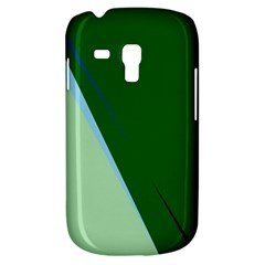 Green Design Samsung Galaxy S3 Mini I8190 Hardshell Case by Valentinaart