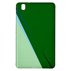 Green Design Samsung Galaxy Tab Pro 8 4 Hardshell Case by Valentinaart