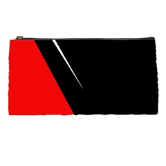 Black And Red Design Pencil Cases by Valentinaart