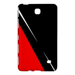 Black And Red Design Samsung Galaxy Tab 4 (8 ) Hardshell Case  by Valentinaart