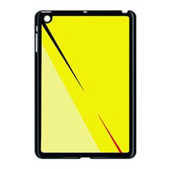 Yellow Design Apple Ipad Mini Case (black) by Valentinaart