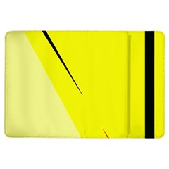 Yellow Design Ipad Air Flip by Valentinaart
