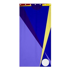 Geometrical Abstraction Shower Curtain 36  X 72  (stall)  by Valentinaart