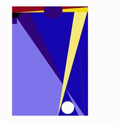 Geometrical Abstraction Small Garden Flag (two Sides) by Valentinaart