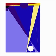 Geometrical Abstraction Large Garden Flag (two Sides) by Valentinaart