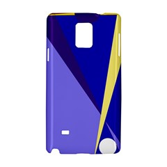 Geometrical Abstraction Samsung Galaxy Note 4 Hardshell Case by Valentinaart