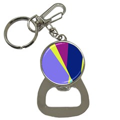 Geometrical Abstraction Bottle Opener Key Chains by Valentinaart