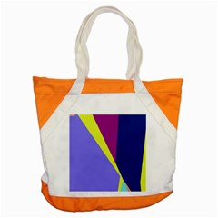 Geometrical Abstraction Accent Tote Bag by Valentinaart