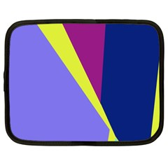 Geometrical Abstraction Netbook Case (xxl)  by Valentinaart