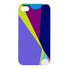 Geometrical Abstraction Apple Iphone 4/4s Premium Hardshell Case by Valentinaart