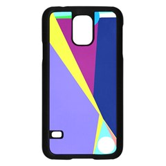 Geometrical Abstraction Samsung Galaxy S5 Case (black) by Valentinaart