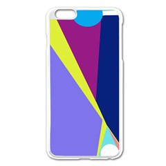 Geometrical Abstraction Apple Iphone 6 Plus/6s Plus Enamel White Case by Valentinaart