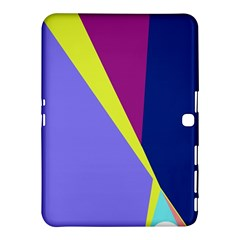 Geometrical Abstraction Samsung Galaxy Tab 4 (10 1 ) Hardshell Case  by Valentinaart