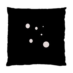 White Dots Standard Cushion Case (two Sides) by Valentinaart