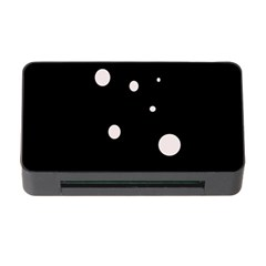 White Dots Memory Card Reader With Cf by Valentinaart