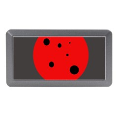 Red Circle Memory Card Reader (mini) by Valentinaart