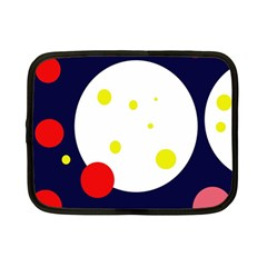 Abstract Moon Netbook Case (small)  by Valentinaart