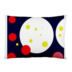 Abstract Moon Pillow Case by Valentinaart