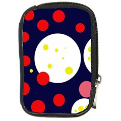 Abstract Moon Compact Camera Cases by Valentinaart