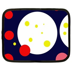 Abstract Moon Netbook Case (xxl)  by Valentinaart