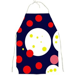 Abstract Moon Full Print Aprons by Valentinaart