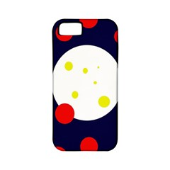 Abstract Moon Apple Iphone 5 Classic Hardshell Case (pc+silicone) by Valentinaart
